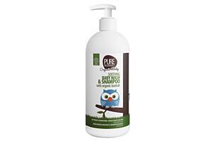 Zklidňující tekuté mýdlo a šampon s Baobabem BIO pro miminka 200 ml