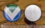 Vegan Flag zrcátko, 56 mm