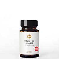 Vitamín B12, 500 µg, MHA formule, 120 kapslí