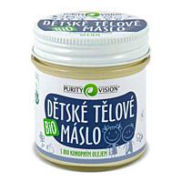 Bio Dětské tělové máslo, 120 ml
