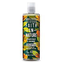 Přírodní šampon BIO Grapefruit & Pomeranč, 400 ml