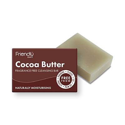 Přírodní mýdlo na čištění obličeje s kakaovým máslem, 95 g
