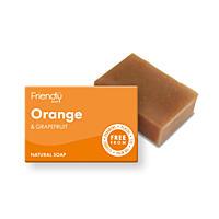 Přírodní mýdlo - Pomeranč a grep, 95 g