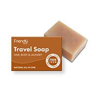 Friendly Soap přírodní mýdlo na tělo i vlasy na cestování, 95 g