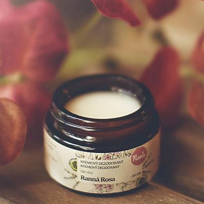 Jemný krémový deodorant - Ranní rosa (dámský), 30ml