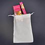 Pacifica Sandalwood parfém - flakón 29 ml + roll-on 10 ml + lněný pytlík  dárková sada