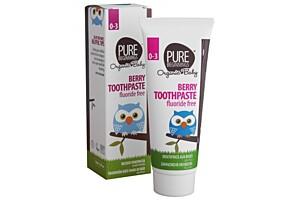 Zubní pasta pro miminka bez fluoridů, malinová příchuť, 75 ml
