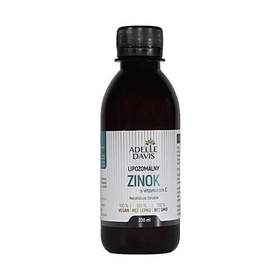Liposomální zinek 15 mg s vitamínem C, 200 ml