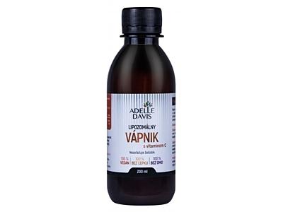 Liposomální vápník s vitamínem C, 200 ml