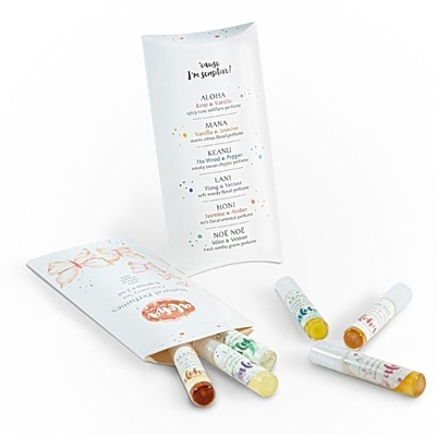 Discovery Set vzorky přírodních parfémů 6 x 2ml 2