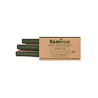 Bambaw náhradní žiletky pro holicí strojek, 5 ks