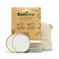 Bambaw Bambusové odličovací tampony, balení 16 ks
