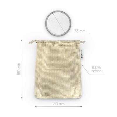 Bambaw Bambusové odličovací tampony, balení 16 ks 4