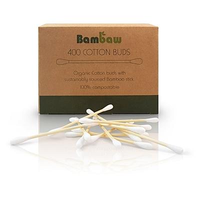 Bambaw vatové tyčinky do uší, 400 ks
