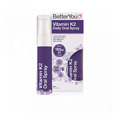 Vitamín K2 ve spreji (180 µg) 25ml