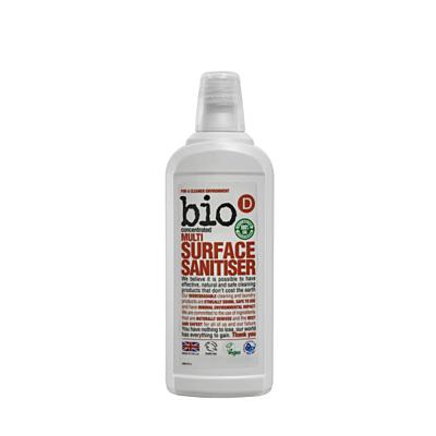 Bio-D Čistič na různé druhy povrchů s dezinfekcí, 750 ml