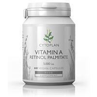 Vitamín A (retinol palmitát), 60 kapslí