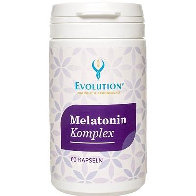 EVOLUTION Melatonin Komplex 5 mg, 60 kapslí