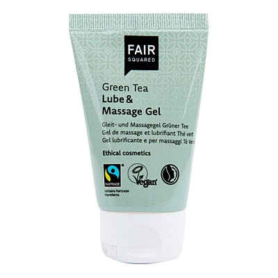 Fair Squared Lubrikační & masážní gel zelený čaj, 50 ml