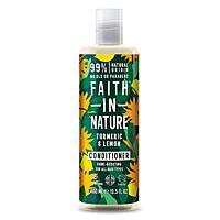 Faith in Nature kondicionér pro lesk Kurkuma & Citrón, 400 ml