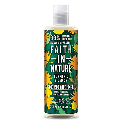 Faith in Nature kondicionér pro lesk Kurkuma & Citrón, 400 ml