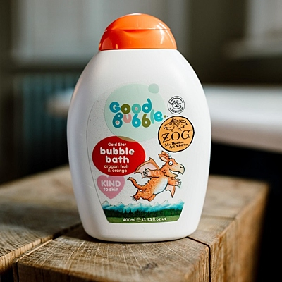 Good Bubble Zog dětská pěna do koupele Dračí ovoce a Pomeranč, 400 ml 2