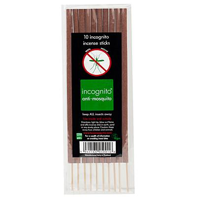 incognito® repelentní vonné tyčinky, 10 ks