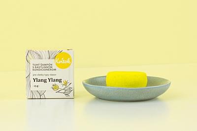 Kvítok Tuhý Šampon s Kondicionérem - Ylang Ylang