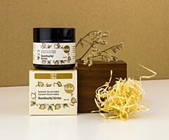 Kvítok šlehaný Tělový Krém - Organický Bambucký Krém, 60 ml