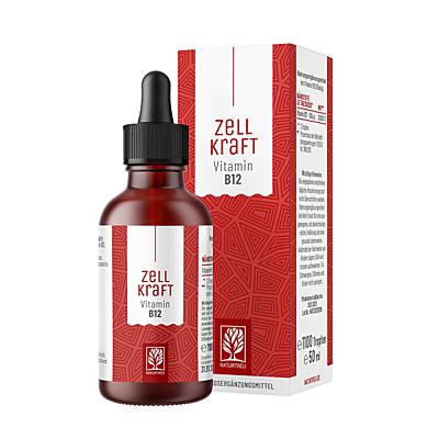 Naturtreu Zellkraft Vitamín B12 - 250 mcg, 50 ml