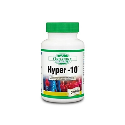 Hyper 10 - pomáhá udržovat dobrý krevní tlak a zdravé srdce 60 kapslí