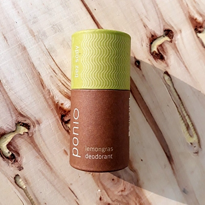 Lemongras - přírodní deodorant, sodafree 60g