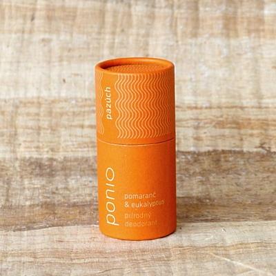 Pomeranč a eukalyptus - přírodní deodorant 65g 2