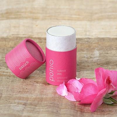 Růžová alej - přírodní deodorant 65g