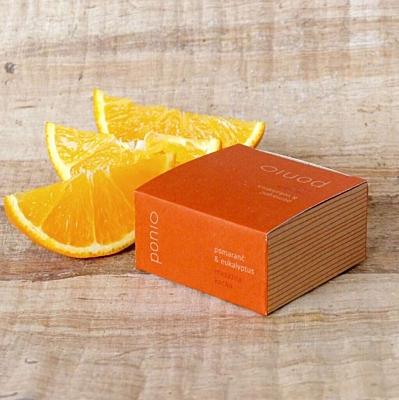 Pomeranč & eukalyptus - masážní kostka