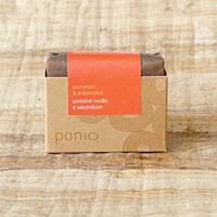 Pomeranč a eukalyptus s rakytníkem - přírodní mýdlo 100g