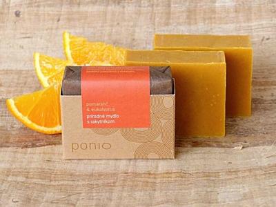 Pomeranč a eukalyptus s rakytníkem - přírodní mýdlo 100g 3