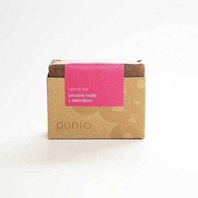 Růžová alej s rakytníkem - přírodní mýdlo 100g 4