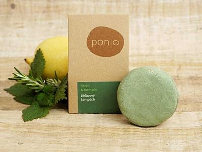 Citron a rozmarýn - kopřivový šampúch 2