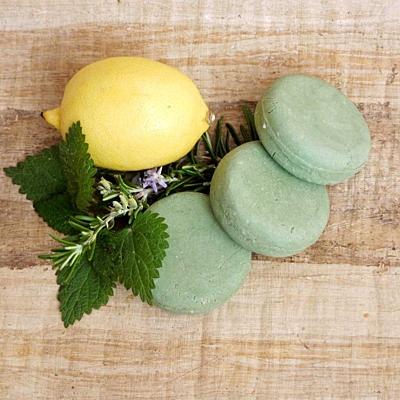 Citron a rozmarýn - kopřivový šampúch 5