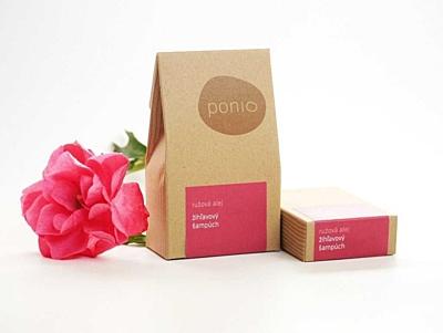 Růžová alej - kopřivový šampúch 5