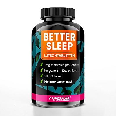 ProFuel BETTER SLEEP Melatonin Malina, 120 pastilek