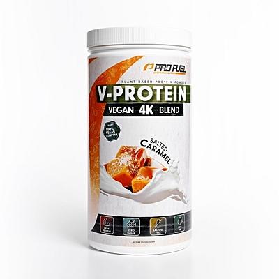 ProFuel V-PROTEIN 4K BLEND Slaný karamel, 750 g