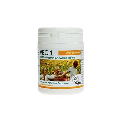 VEG 1 - pomeranč, 90 tablet