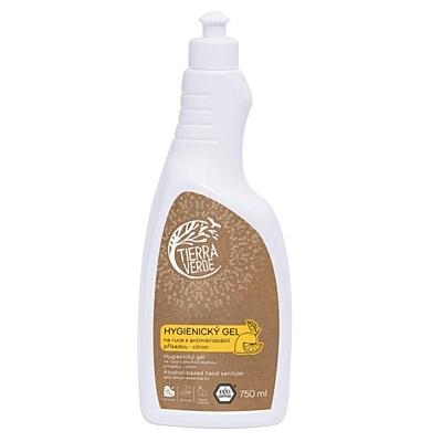 Tierra Verde Hygienický gel na ruce citrón 3