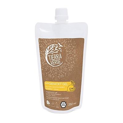 Tierra Verde Hygienický gel na ruce citrón 2