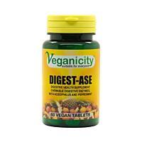 Digest-Ase (trávicí enzymy), 60 tablet
