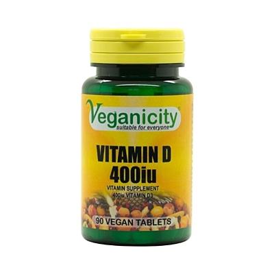 Vitamin D3 (400 IU), 90 tablet