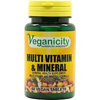 Multi Vitamin a Mineral - Kombinace vitamínů a minerálů pro každého 60 tablet