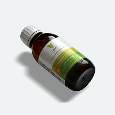 Opti3 Liquid. Omega - 3 EPA a DHA, s vitamínem D, 150 ml,  sada 3 ks se slevou 29 % 3